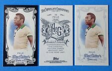 2013 TOPPS  Allen & Ginter MINI .  PELE  , BLACK, A & G , Reg .  LEGEND . SOCCER