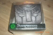 Transformers 1-3 Limited Autobot Collection Blu-ray NEU