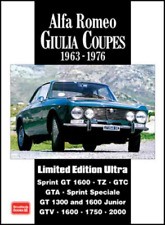 Alfa Romeo Giulia Sprint GT1600 GTV1300 1600 TZ GTC GTA GTV Junior 1963-1976