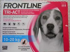 Frontline¹Tri Act antiparasitaire puce tique flea treatment chien 10-20 kg 3 pp