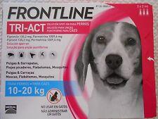 Frontline Tri-Act 3 pipettes pour chiens de taille moyenne  10 a 20 kg