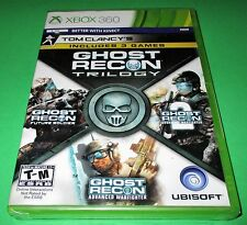 Tom Clancy's Ghost Recon: Trilogy Microsoft Xbox 360  Factory Sealed! Free Ship!