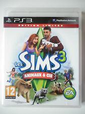 """Les Sims 3 Animaux & Cie édition limitée Jeu Vidéo """"PS3"""" Playstation 3"""