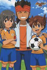 poster promo Inazuma Eleven go anime Goulart Knight Matsukaze Tenma Endou Mamoru