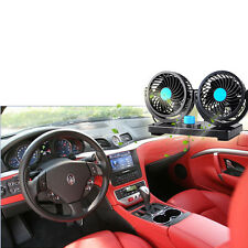 Adjustable Mini DC 12V  Car Air Fan Quiet Strong Wind Cooling 360 Rotating