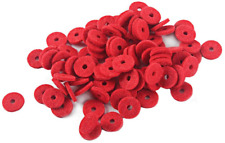 More details for alnicov 12.5mm piano felt front rail regulating punchings red keyboard balance w