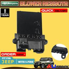 For Jeep Cherokee KJ 02-07 Wrangler TJ 2002-2006 5139719AA Blower Motor Resistor