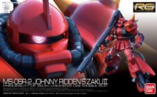 BANDAI RG 1/144 MS-06R-2 JOHNNY RIDDEN'S ZAKU II Model Kit Gundam NEW