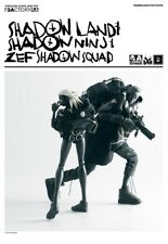 ThreeA 3a Ashley Wood x Die Antwoord ZEF SHADOW SQUAD Tomorrow KIng Popbot AK