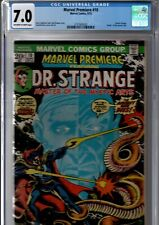 1973 Marvel Premiere #10 CGC 7.0 White Pages 1st Appearance of Shuma Gorath