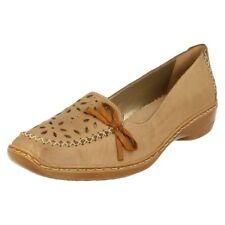 Zapatos planos de mujer Rieker color principal gris