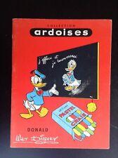 RARE Ancien album à Colorier Ardoises Walt Disney BON ETAT PLUS