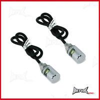 Chrome 12v LED number plate light bolts Fit Harley davidson trike
