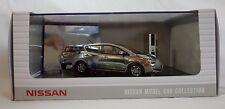 Genuine 1:43 Miniature Car NISSAN LEAF (ZEO) Chrome Charger Model KWAM0-02156