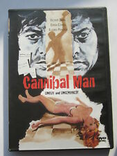 "CANNIBAL MAN(1973)LBX (UNCUT) ""VINCE PARRA"" ANCHOR BAY RELEASE (DVD) 2000"