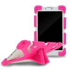 Universal Silicona Tablet Plegable Fundas para Ipad pro 9.7 Nuevo New – Rosa