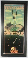 Vintage Tennessee Volunteers Air Attack Football Wooden Wall Clock