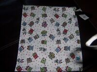 New Hoot cloth diaper planet wise Lite wet bag new