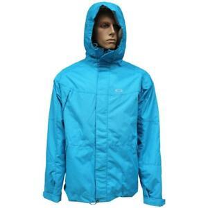 Oakley Enlist Snow Jacket Mens Size L Large Vivid Blue Snow Board Ski Mountain