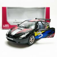 Kinsmart 1:34 Die-cast Toyota Celica Car Street Fighter Model with Box Collectio