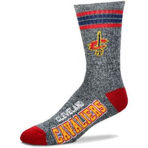 Cleveland Cavaliers For Bare Feet Got Marbled Crew Socks- MEDIUM