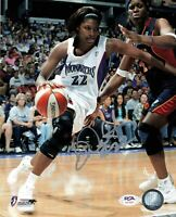 DeMya Walker Signed 8x10 photo WNBA PSA/DNA Autographed Monarchs
