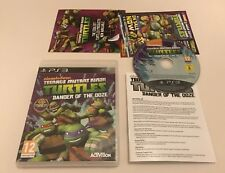 Teenage Mutant Ninja Turtles Danger of the Ooze Sony PlayStation 3 PS3 Complete