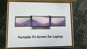 Triple Portable Monitor Laptop Full HD IPS 11.6'' Dual Screen Type-C IPS Panel