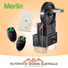 MR1000 MERLIN ROLLER DOOR OPENER/MOTOR - C945 - SUITABLE FOR DOUBLE GARAGE DOORS