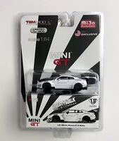 1/64 MINI GT LB Works Nissan GTR R35 Type 1 Rear Wing Liberty Walk 'Limited' USA