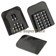 Black Rearview Mirror Remount Self Adhesive 2 Clip adapters Kit Fix It yourself