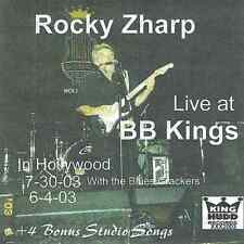 Rocky Zharp - Live at BB Kings - CD
