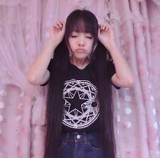 Anime Card Captor Sakura KINOMOTO SAKURA Casual T-shirt Blouse costumes Cosplay