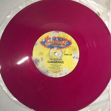 The Meanies Gangrenous Record 33 1/3 Lu-Go-Go Unique Pink Record 9/nearly 10 In.