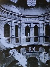 Sacristy, Santa Maria presso San Satiro, Milan, Italy, Magic Lantern Glass Slide