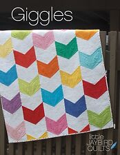 Giggles Baby Quilt Pattern ~ Julie Herman ~ uses Jaybird Quilts Sidekick ruler