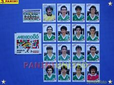 Panini★WM 1986 WorldCup WC 86★Team Mexiko Komplett-Satz / Mexico complete set