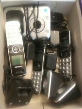 VTECH cordless handset W/ Answering Machine - 4 Wireless Telephones - SOLD AS IS