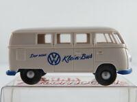"""Brekina VW-Kombi T1a (1953) """"Der neue VW Klein-Bus"""" in weiß 1:87/H0 NEU/OVP"""