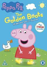 Peppa Pig: The Golden Boots [DVD] [2015][Region 2]