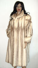 """SAGA Mink"" BROWN CROSS Nerzmantel,42-46, Kohinoor,Nerzjacke,Pelz, Mink Coat,Fur"