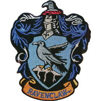 HARRY POTTER RAVENCLAW CREST IRON ON PATCH OFFICIALLY LICENSED