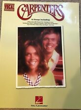 CARPENTERS NOTE FOR NOTE VOCAL TRANSCRIPTIONS, Excellent Condition