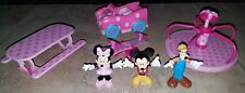 Disney Minnie Micky Mouse Park Exclusive Playset w Car & Goofy