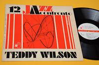 TEDDY WILSON UGO CALISE LP JAZZ A CONFRONTO ORIG ITALY 1974 NM ! TOP AUDIOFILI