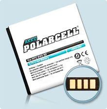 Polar Cell Akku HTC Sensation 4G XE XL Evo 3D Titan BG58100 BA-S560 Accu Batteri