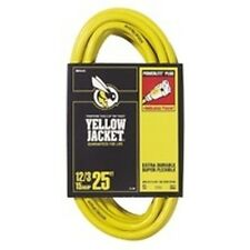 Woods Yellow Jacket 2883 Contractor Heavy Duty 12/3 X 25 Ft Extension Drop Cord
