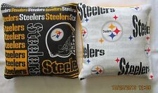 Pittsburgh Steelers Cornhole 8 Bag Set FREE SHIPPING!! Baggo Corn hole Bags NEW
