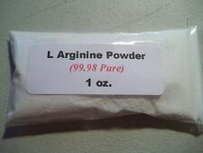 1 oz. L Arginine Powder    99.98% Pure