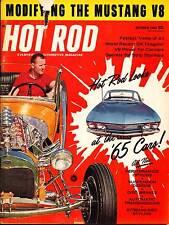 HOT ROD OCT 1964,MUSTANG V8,CORVAIR,VETTE,STRIP STOCKERS,OCTOBER,HOTROD MAGAZINE